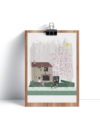huisportret 'Edo en Manon'