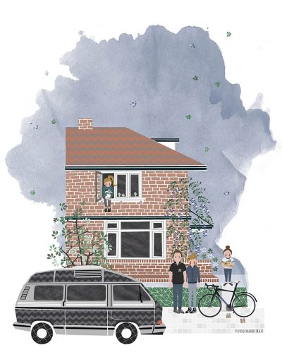 huisportret Radboudstraat