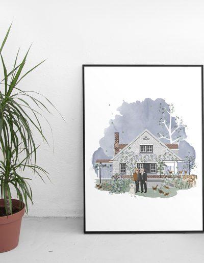 huisportret 'De Helling'