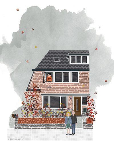 huisportret Kalkoenstraat