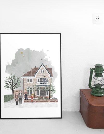 huisportret Withoosstraat