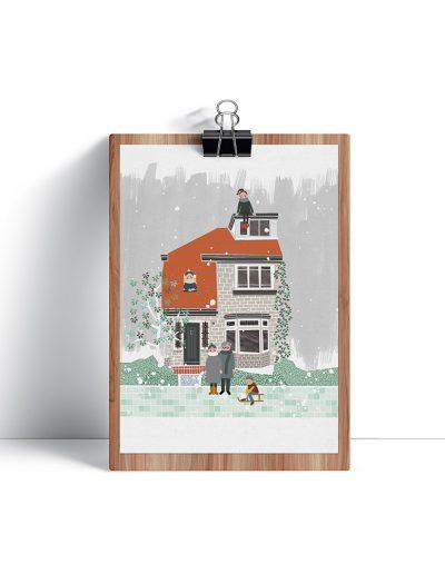 huisportret Zwaanstraat