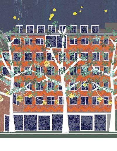 huisportret Barentszplein