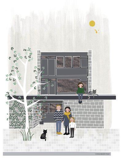 huisportret Kattenbosch