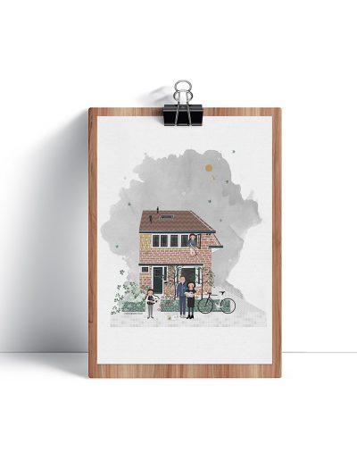 huisportret Reigerstraat