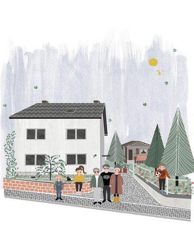 huisportret Reinigerstrasse