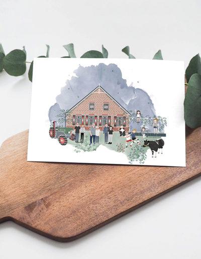 huisportret Klein Hofweg