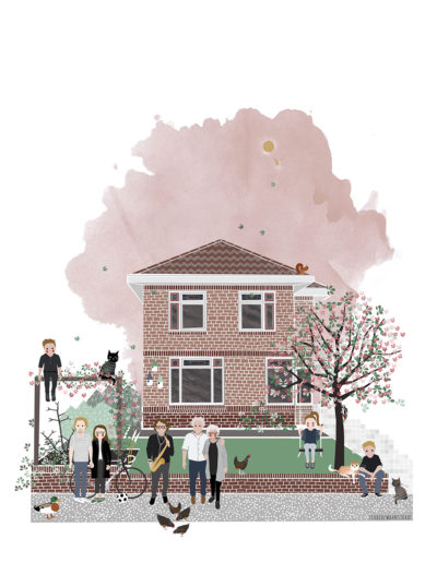 huisportret Markgravenweg