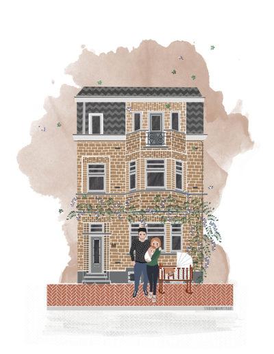 huisportret Meerlaan