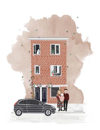 huisportret Minahassastraat