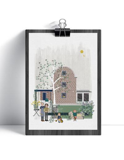 huisportret Nippoer