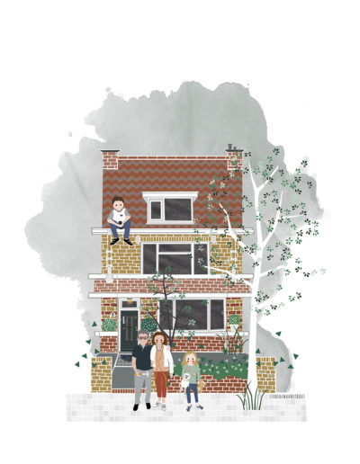 huisportret Phloxplein