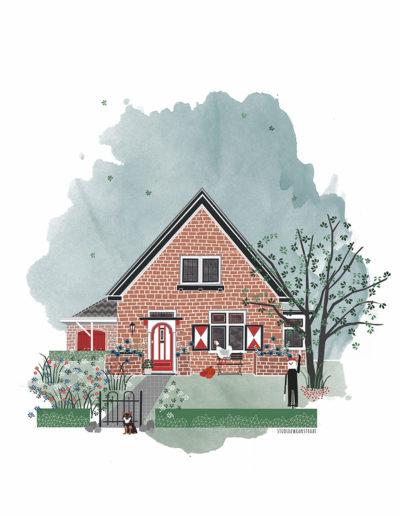 huisportret Ruurloseweg