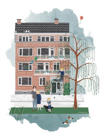 huisportret Statensingel