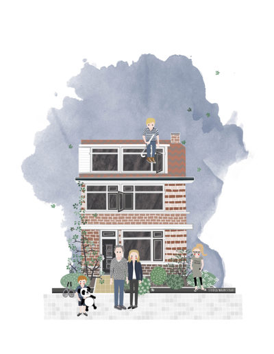 huisportret Watertorenlaan