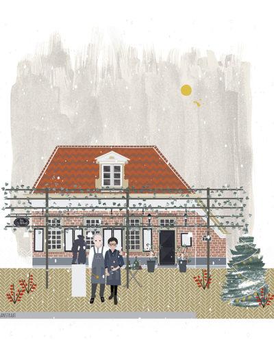 huisportret 'de Oale Marckt'