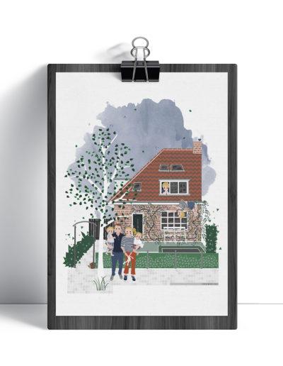 huisportret C Huijgensstraat