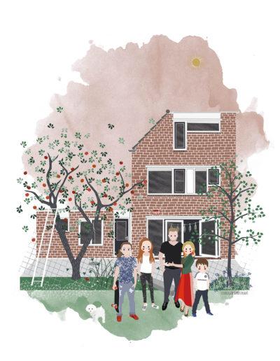 huisportret Rosegaard