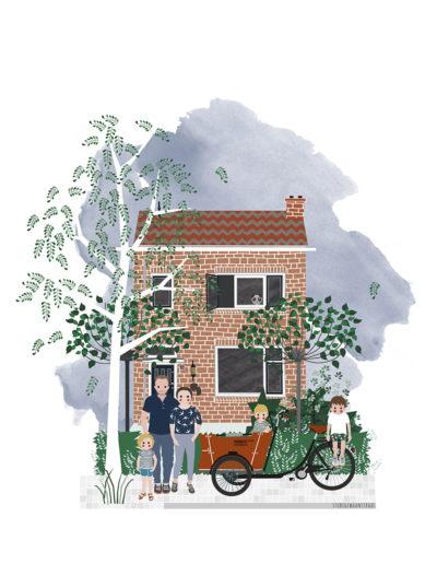 huisportret Sleedoornstraat