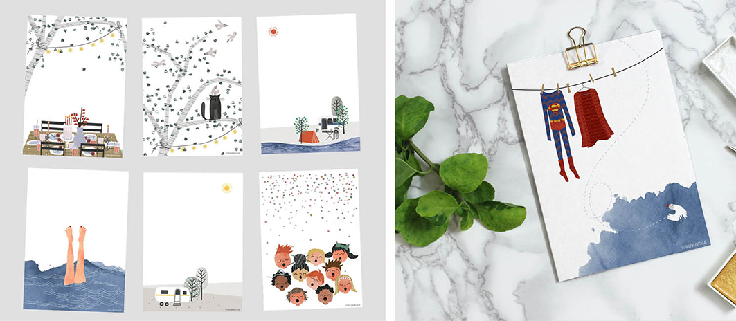 seven new designs!